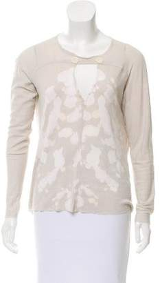 Raquel Allegra Tie-Dye Long Sleeve Top