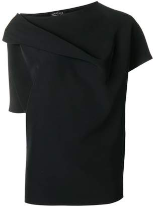 Gianluca Capannolo roll neck detail blouse