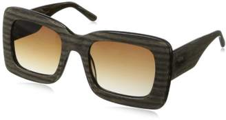 Black Flys F.g. Tv Square Sunglasses