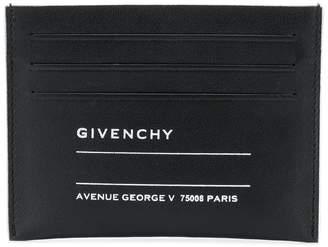 Givenchy printed card holder