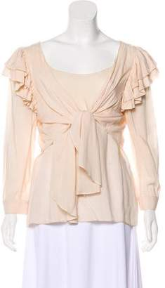 Rebecca Minkoff Ruffled Layered Top