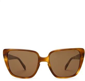 Celine Oversized square-frame acetate sunglasses