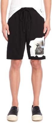 Religion Eagle Graphic Shorts