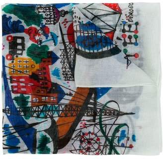 Bellerose Kids all over print scarf
