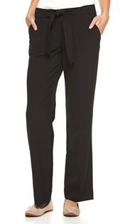 Women's Apt. 9® Bow Wide-Leg Dress Pants $54 thestylecure.com