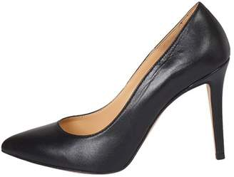 Lady Doc Black, Pointed-Toe, High-Heel
