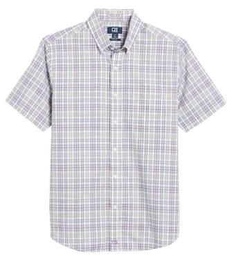 Cutter & Buck Isaac Plaid Easy Care Woven Shirt