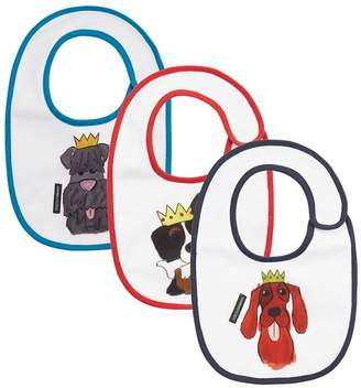 Dolce & Gabbana Dog Print Bibs (Pack of 3)