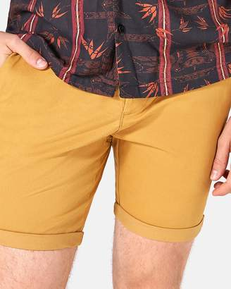 Topman Stretch Skinny Chino Shorts