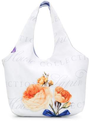 Lapin House floral print shoulder bag
