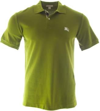 Burberry Men's Check Placket Polo Shirt