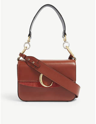 771209c3a718 Chloé Women s Sepia Brown C Small Leather Shoulder Bag