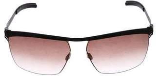 Mykita Gradient Aviator Sunglasses