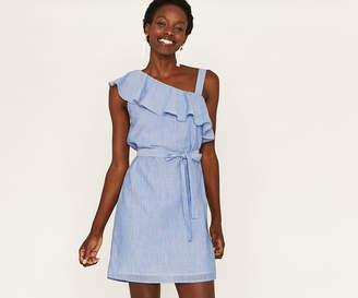 Oasis ASYMMETRIC SHIFT DRESS