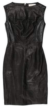Tory Burch Leather Sheath Dress w/ Tags
