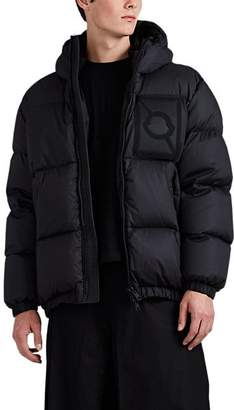 Craig Green 5 MONCLER Men's Threshers Logo-Patch Down-Quilted Puffer Coat - Black