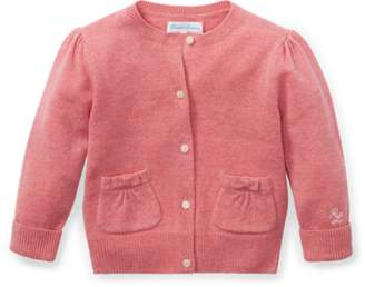 Ralph Lauren Bow-Detail Wool Cardigan