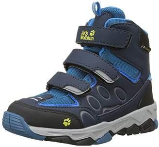Jack Wolfskin Mtn Attack 2 Texapore Mid Vc K, Unisex Kids' High Rise Hiking Shoes, Blue (Glacier Blue), 11.5 Child UK (30 EU)