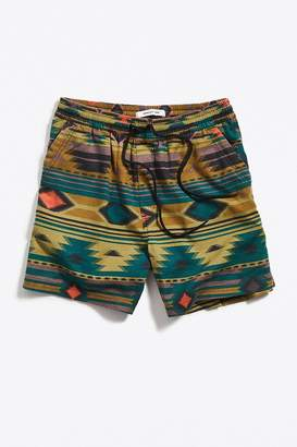Urban Outfitters Southwest Flannel Lucien Short