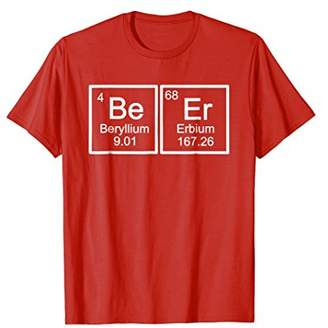 Funny Beer Periodic Table T Shirt Funny Alcohol Tee Shirt