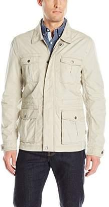 Calvin Klein Jeans Men's Cross Hatch Slub Jacket