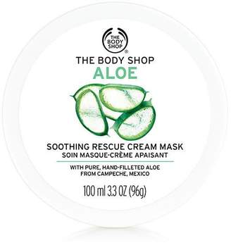The Body Shop Aloe Vera Soothing Rescue Cream Face Mask
