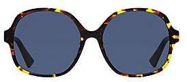 Christian Dior Women's Diorama 58MM Oversized Round Sunglasses
