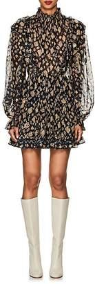 Ulla Johnson Women's Vienne Silk-Blend Fil Coupé Dress