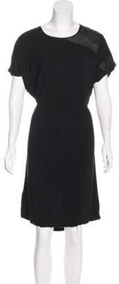 Tess Giberson Short Sleeve Knee-Length Dress