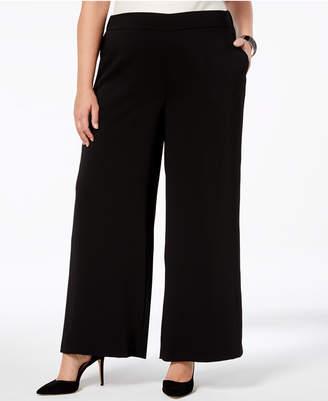 Nine West Plus Size Wide-Leg Pants