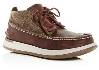Sperry Men's Caspian Wool & Leather Chukka Boots