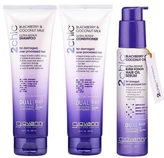 Giovanni 2Chic Ultra Repairing Hair Care Trio-III