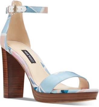 8b5a0358c3e2 Nine West Platform Heel Women s Sandals - ShopStyle