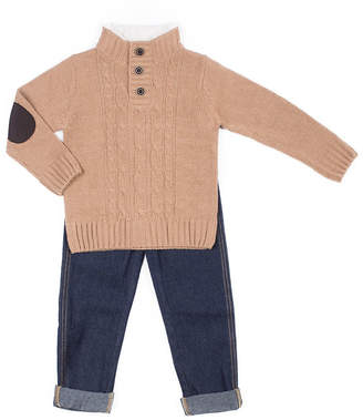 Little Lass 2-pack Pattern Pant Set Baby Boys