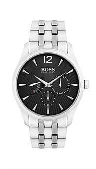 Boss Black Hugo Gents Commanaer Multifunction Ss Rnd Blk Dial Ss B
