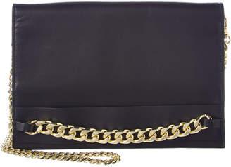 BCBGMAXAZRIA Zarina Convertible Leather Chain Wallet