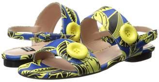 Moschino Tropic Button Sandal Women's Shoes