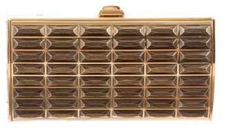 Judith Leiber Metal Box Clutch