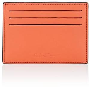 Salvatore Ferragamo Men's Flat Leather Card Case