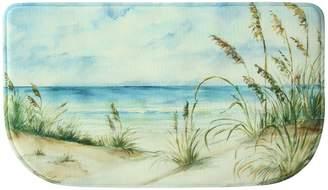 "Bacova Coastal Landscape Memory Foam Kitchen Rug - 18"" x 30"""