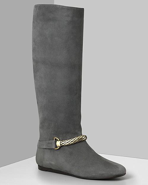 """Botkier Women's """"Heather"""" Suede Flat Boots"""