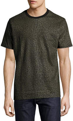 Eleven Paris Gatrik Crackled Crewneck T-Shirt