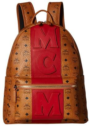 MCM Medium Stripe Stark Backpack Backpack Bags