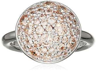 Hot Diamonds Emozioni by Bouquet Champagne Ring - Size N