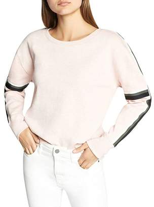 Sanctuary Backtrack Stripe Trim Sweatshirt