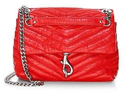 Rebecca Minkoff Women's Edie Quilted Chain Crossbody Bag