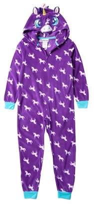 Komar Unicorn Hooded Blanket Sleeper (Big Girls)