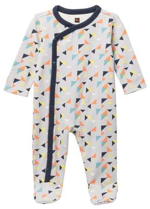 Tea Collection Archer Footed Romper (Baby Boys)