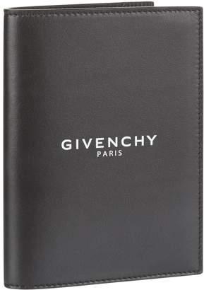 Givenchy Leather Logo Passport Holder
