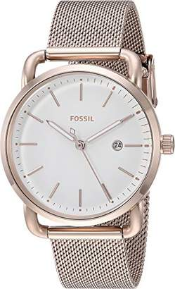 Fossil Women's 'The Commuter' Quartz Stainless Steel Casual Watch